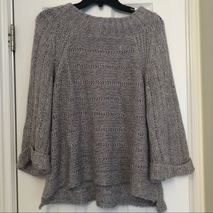 Valette Taupe Knit Sweater